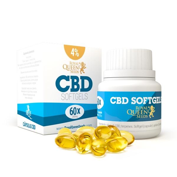 Cápsulas de óleo CBD