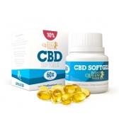Cápsulas Softgel de CBD 10%