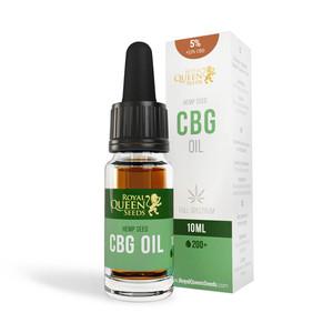 Óleo 5% CBG e 2,5% CBD