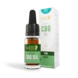 Óleo 2,5% CBG e 2,5% CBD