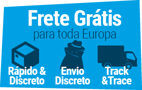 Livre World Wide Shipping, rápido e discreto!